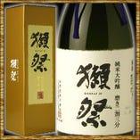 山口県の銘酒「獺祭」をまるまる1本飲み放題のコースもございます!