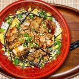 昭和秘伝の焼き鳥丼