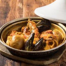 旨みがたっぷり。本格派な地中海料理