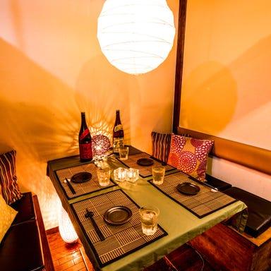 海鮮と和牛炙り寿司 完全個室居酒屋 八兵衛 日本橋店  店内の画像