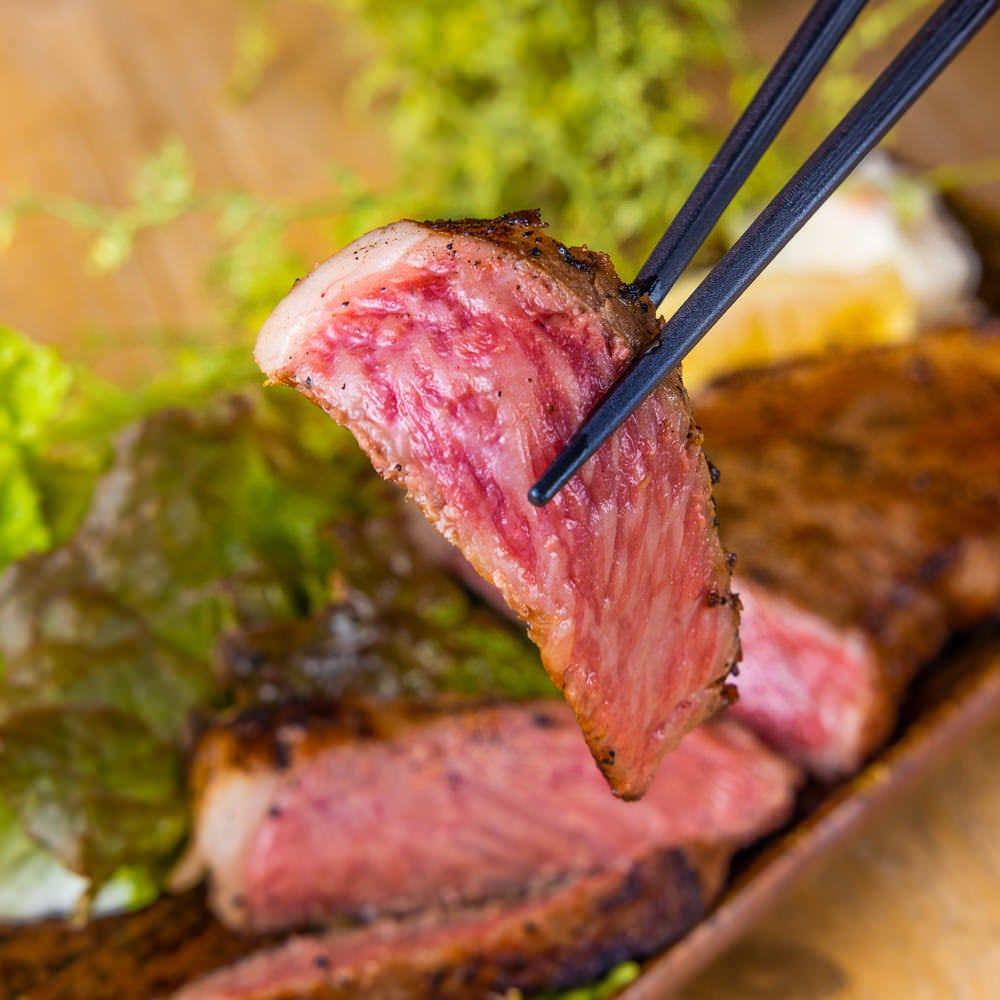 仙台牛しゃぶしゃぶor仙台牛ステーキの選べるメイン含む全9品 3時間飲み放題付【椿-つばき-コース】