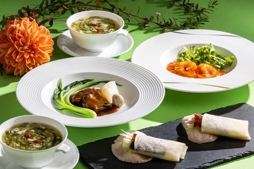 地元の新鮮食材の広東料理