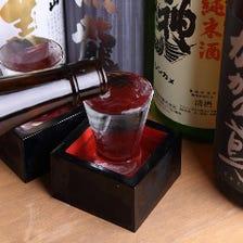 こだわりの逸品料理と相性◎の日本酒