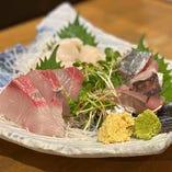 【産直鮮魚】 産地で買い付けた新鮮な魚介をお楽しみ下さい