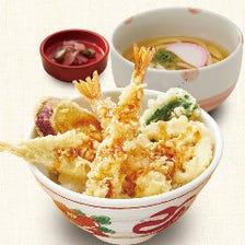 天丼と小麺セット