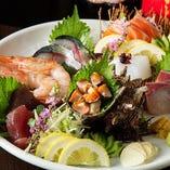 鮮魚7種盛り合わせ