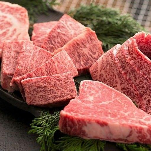 厳選した国産黒毛和牛の希少な部位もご用意しております。