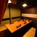 テーブル席個室(~6名様)