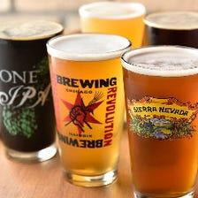 六本木で味わう24種の個性派ビール