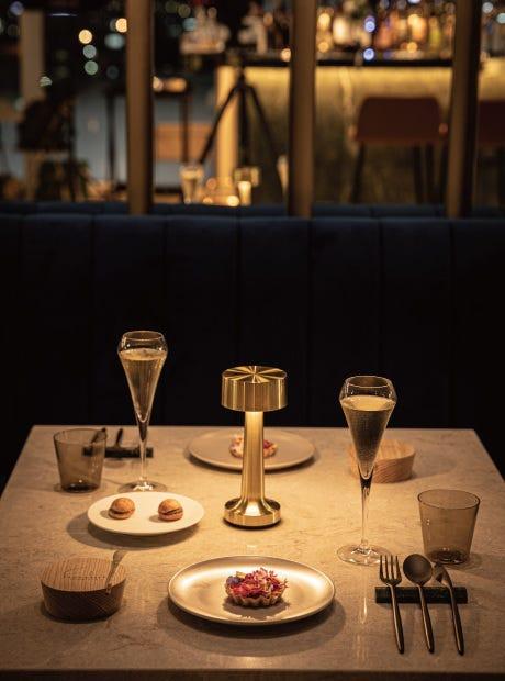 【ディナー】ライトコース・選べるメインディッシュやパスタ、デザートまで楽しめる贅沢コース