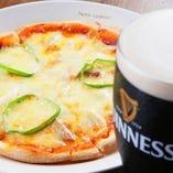 ミックスピザ (MIXED PIZZA…BACON&PEPPERRONI)