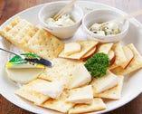 チーズ3種盛り合わせ (ASSORTED CHEESE 3KIND)