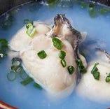 広島県産大きな茹で牡蠣2つ入り600円