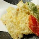 四万十鶏の天ぷら