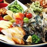 高知郷土料理の【皿鉢】