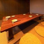 座敷個室席(6名様イメージ)