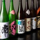 高知の日本酒や焼酎を多数取り揃えています!