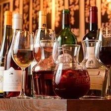 こだわりのワインがずらり!