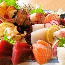 北海道を満喫!旬の海鮮を贅沢に!