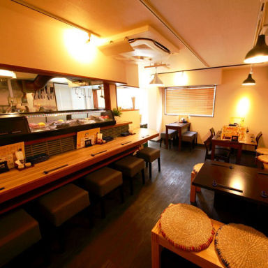 日本酒と酒肴 36ご飯 武蔵小杉 店内の画像