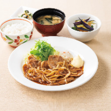 生姜焼き膳(選べる小鉢つき)