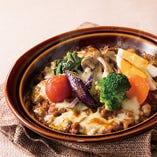 15種類の野菜を食べるキーマカレードリア