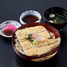 白焼丼(特上/鰻1尾)