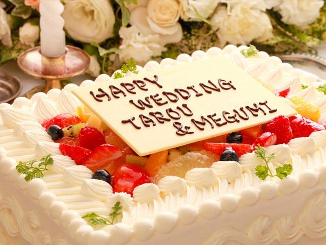 Weddingケーキ&生ライブ付結婚式二次会プラン 飲み放題つき5400円