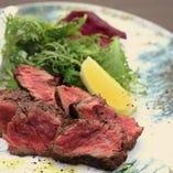 季節のコース シェフ特選お肉とお魚のダブルメイン!旬の食材で至福のひとときを!!