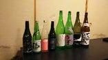 各種日本酒取り揃えています。
