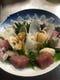 新鮮な魚介類を御賞味下さい。