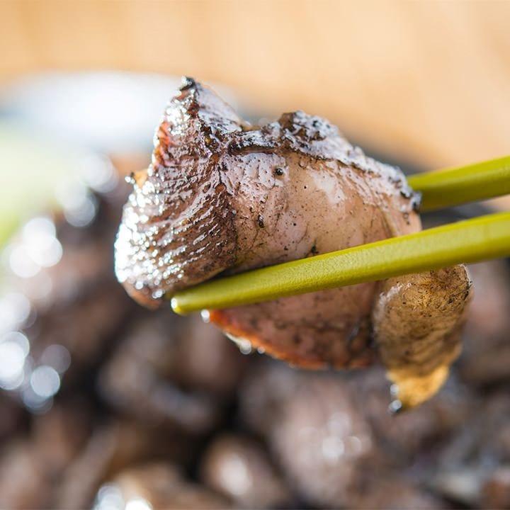 有田鶏の炭火黒焼