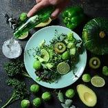 新鮮な野菜を使ったオーガニックフード♪