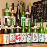秋田の地酒も多数ご用意させて頂きます。