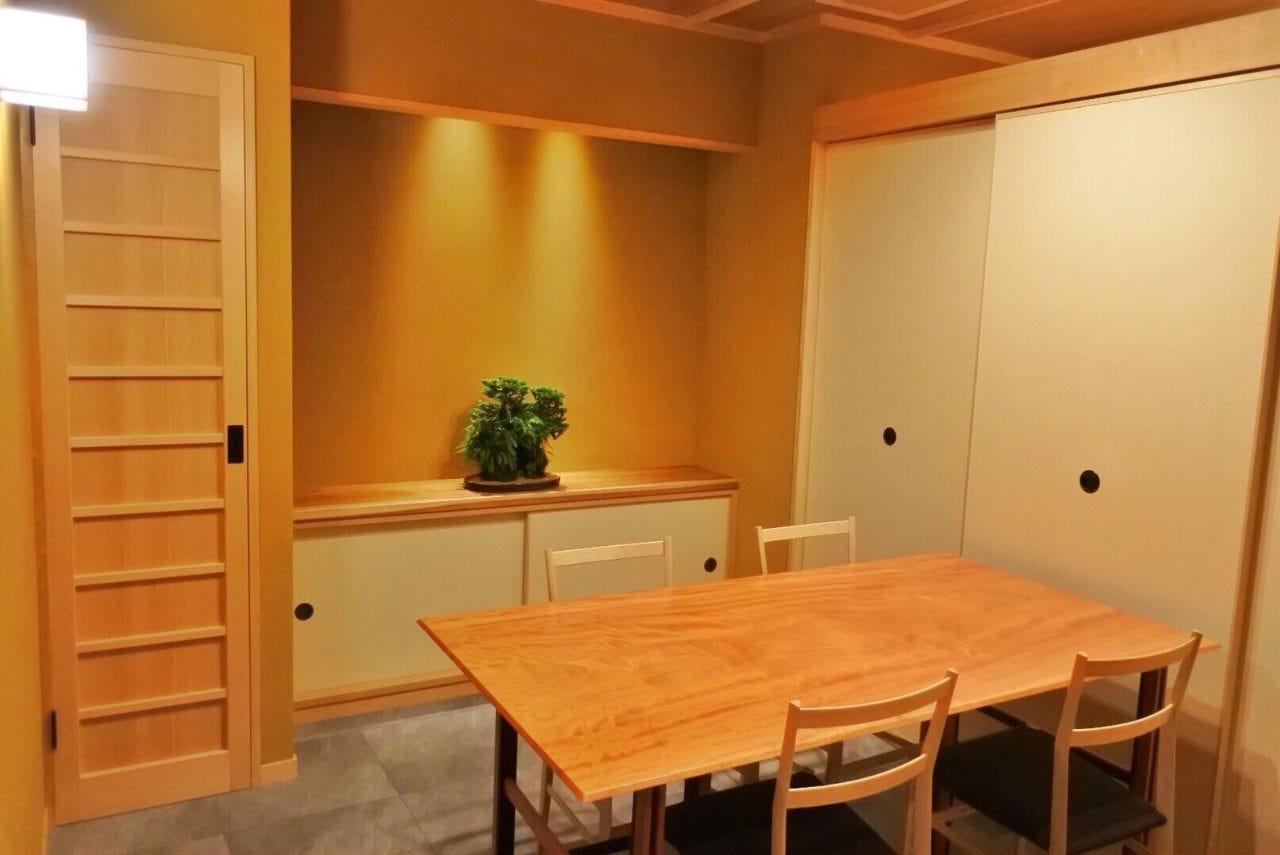 ◆両家での顔合わせにも適した個室