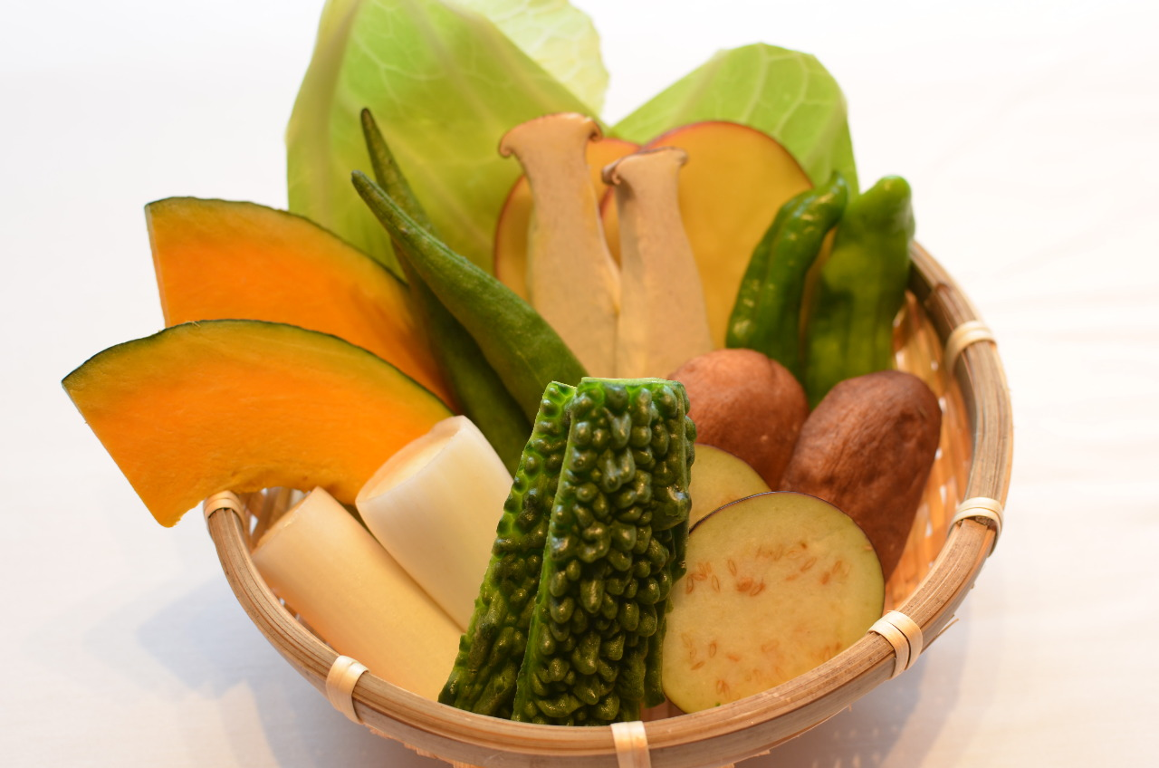 採れたて、新鮮な『やんばる野菜』