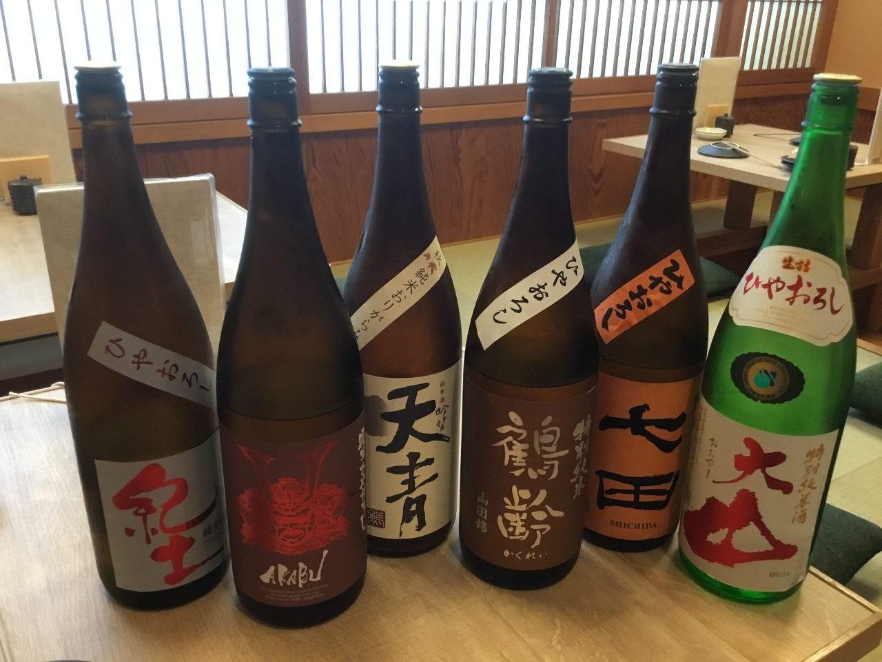 和歌山をはじめとした逸品日本酒