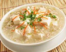 女性に人気な白麻婆豆腐