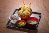 大えび天丼定食