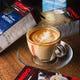 イタリアで2番人気のKIMBOコーヒー!夕方の一時に是非!