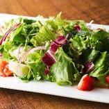 佐々木ファームのグリーンサラダ