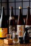オーナーが厳選した全国各地の銘酒をご用意しています♪