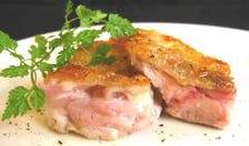鶏の藻塩焼き -ミディアムレア-