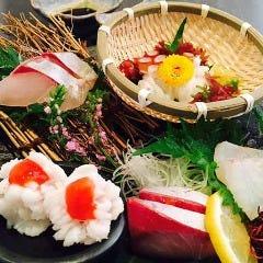 【名物】天草 鮮魚のお造り5種盛り合わせ
