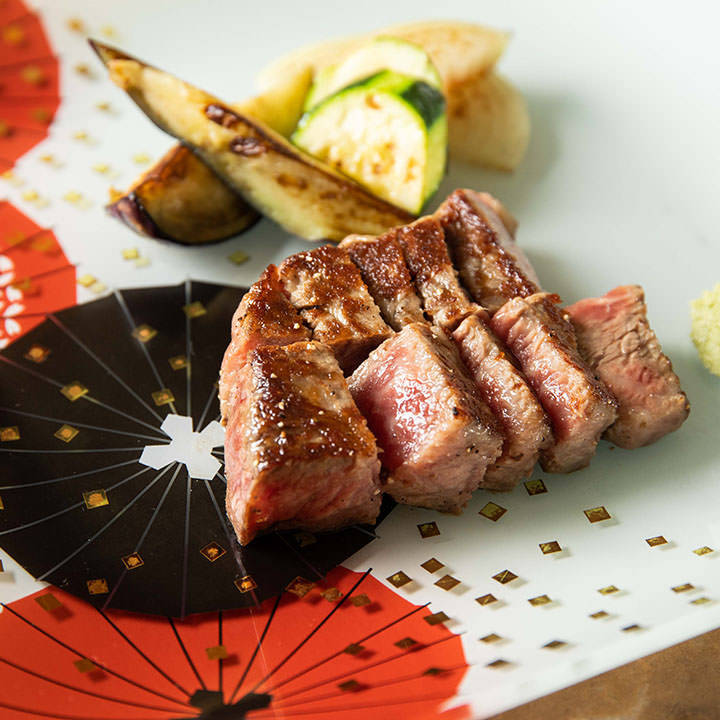 A5ランク黒毛和牛肉も楽しめる多彩なコース料理をご用意