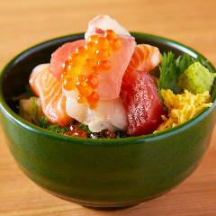 ちっちゃい海鮮丼