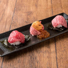 炙り寿司3種盛り合わせ