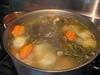 ブイヨンから全て手作りで作っている 手間ひまかけた本日のスープ