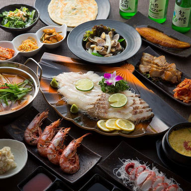 韓国料理 サラン 心斎橋店  コースの画像