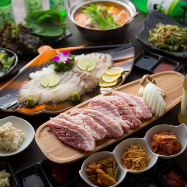 韓国料理 サラン 心斎橋店  こだわりの画像